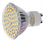 LED spotlight GU10 4.5W 3000K 450lm 60-SMD 3528 (AC 220~240V)