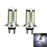 LED bulbs Marsing H7 17W 33-SMD 5730 1000lm 6500K (12~24V) 2PCS