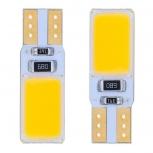 LED bulbs T10 3W 12-COB LED 2 PCS