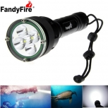 Waterproof LED Flashlight FandyFire 5200lm