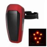 LED Bike Taillight Red 10-LED