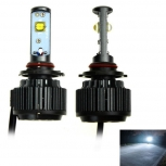 Cars LED bulbs H7 V16 30W 6000K 3000lm (2PCS)