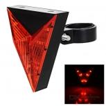 Red LED Light Tail Bike Lamp