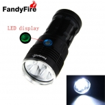 LED Flashlight FandyFire 5 x LED XM-L2 T6 LED