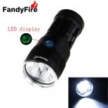 LED Flashlight FandyFire 5 x LED XM-L2 T6 LED
