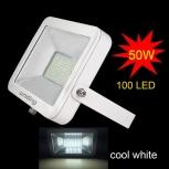LED spotlight Uniting IP65 50W, 100x2835 LED, 5000lm, 6000K, cool white