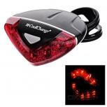 Red Bike Tail Light Cool Change