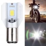 Motorcycle LED bulb Jiawen COB Ba20d