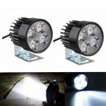 Motorcycle LED daytime running lights