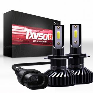 enlarge LED bulbs H7 H11 9006 HB4 9005 HB3