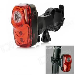 enlarge Red Laser Bike Bicycle LED Rear Light ESSEN EL-600VR 100mA