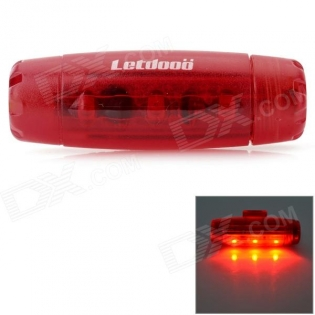 enlarge Bike Tail LED Lamp Letdooo Bullet Style