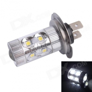enlarge LED bulb H7 60W 500LM 6500K 12-Samsung SMD LED