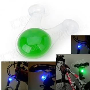enlarge Bicycle Green Light LED Tail Warning Light  Marsing