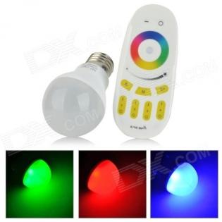 enlarge LED bulb E27 6W 450lm 20-SMD 5630 LED RGB Light
