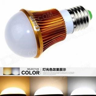 enlarge LED bulb CXHEXIN G27A-3+3 E27 6W 360lm