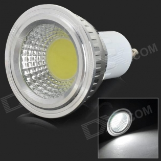 enlarge LED bulb GU10 3W 250lm 7000K COB LED