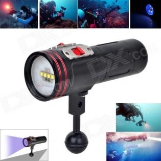 enlarge LED Flashlight ARCHON 34VR 2600lm 4 x CREE XM-L2 White, 2 x XP-E N3 Red
