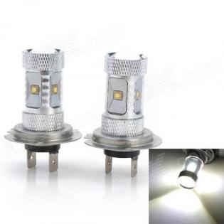 enlarge LED bulbs H7 30W 2300lm 6000K