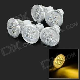 enlarge LED bulbs JRLED GU10 4W 370lm 3300K 5 PCS