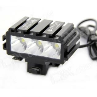 enlarge LED bike headlight UltraFire LW-02352J 2000lm 3x Cree XM-L2 T6
