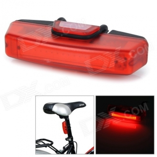 enlarge Red Light LED Tail Lamp for Bike RAYPAL RPL-2263