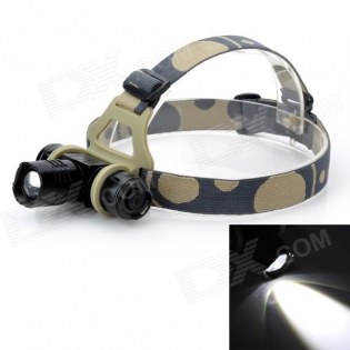 enlarge LED Headlamp 10W 900lm Cree XM-L T6