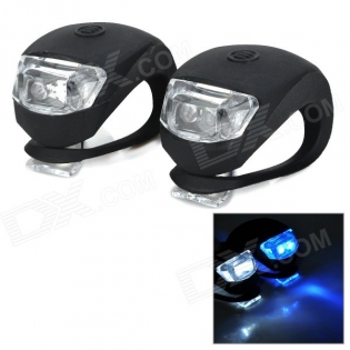 enlarge Front + Rear Bike LED Lamps