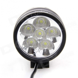 enlarge Front bike LED light UltraFire 6-V5 6-LED 5000lm