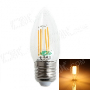 enlarge Candle LED bulb Zweihnder E27 4W 380LM 3500K
