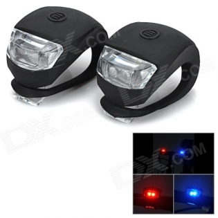 enlarge Bicycle 2-LED Red + Blue Signal Lamps