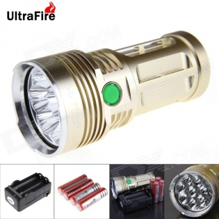 enlarge LED Flashlight UltraFire U-8T 8-LED 7500lm 8x Cree XM-L T6