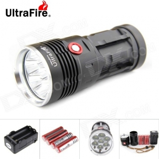 enlarge LED Flashlight UltraFire U-7T 7-LED 7000lm Cree XM-L T6