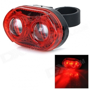 enlarge Red LED Light Bike Bicycle Tail Warning Lamp SY-368