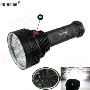 enlarge LED Flashlight KINFIRE KF-16 XM-L2 U2 9600lm 16-LED