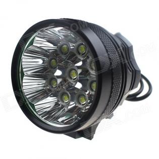 enlarge Bike LED light ZHISHUNJIA SHQ-9 5400lm 9xLED XM-L T6