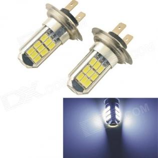 enlarge LED bulbs Carking CS1058 H7 5W 6000K 102lm 27x SMD 5630 (12V / 2 PCS)