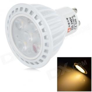enlarge LED spotlight LeXing Lighting GU10 6W 3500K 350lm 5x SMD 2835
