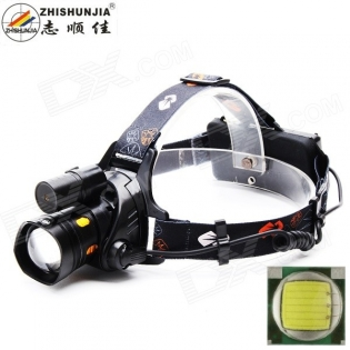 enlarge LED Headlamp ZHISHUNJIA HT01-T6 2-LED 800lm 10W