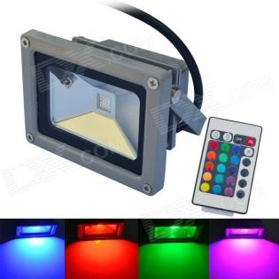 enlarge RGB LED spotlight JIAWEN IP65 waterproof 10W 900lm
