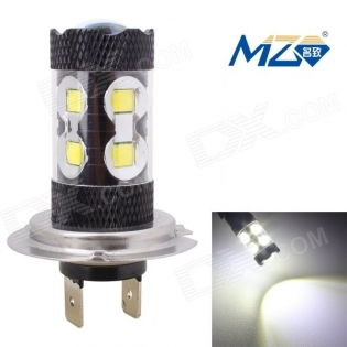 enlarge LED bulb MZ H7 60W 12-3535 XT-E 2700lm 6500K (12~24V)