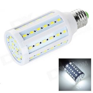 enlarge LED bulb E27 12W 60x 5730 SMD 7400K 800lm (AC 110~130V)