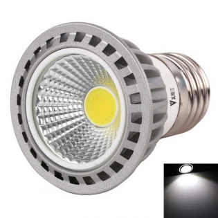 enlarge LED bulb WaLangTing E27 4W COB LED  6500K 250lm - Grey + Silver (AC 110~240V)