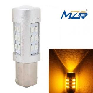 enlarge LED bulb MZ 1156 4.2W turn signals 597nm 630lm 21-SMD 2835  (12~24V)