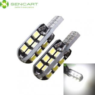 enlarge LED bulb T10 8W 6000K 750lm 24-SMD 3020 (12~16V / 2 PCS)