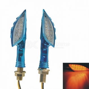 enlarge Motorcycle LED turn signals CARKING 110lm 560nm - blue (2 PCS / 12V)