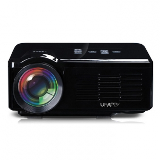 enlarge Home Theater LED Mini Projector UHAPPY U35 HD