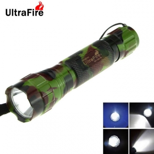 enlarge LED Flashlight Ultrafire WF-15 XM-L2 LED 800lm