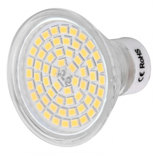 enlarge LED spotlight GU10 5W 3000K 450lm 60-SMD 2835 (AC 220~240V)