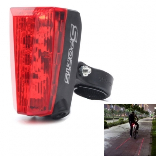 enlarge Bicycle Tail LED Light ZHISHUNJIA HWD05 with laser